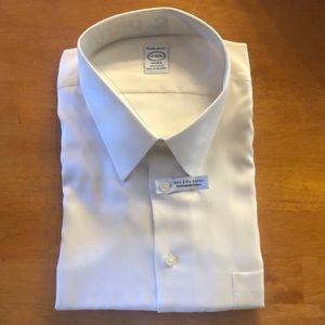 Pronto Uomo cream dress shirt
